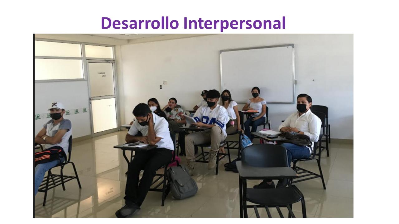 DESARROLLO INTERPERSONAL 4BITMM